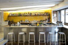 Combat Cocktails bar - Paris - www.enplace.fr - Station cocktail - Mise en place - Agencement bar