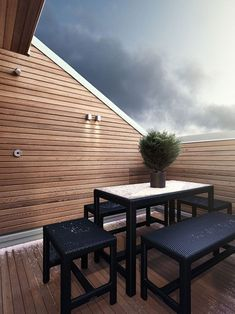 keep some sqm for an outside space !