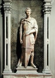 Donatello, St. George, 1415-1417 (Sculptural Commissions for Or San Michele)