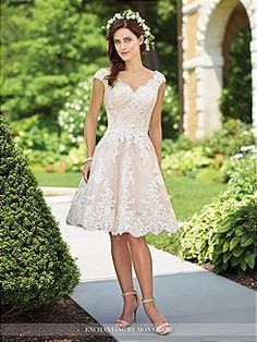 Bridal Gowns Enchanting by Mon Cheri 117185 Bridal Gown Image 1