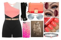 """Untitled #1180"" by shinetomlinson10 ❤ liked on Polyvore featuring Dorothy Perkins, Michael Kors, Casetify, Ray-Ban and Accessorize"