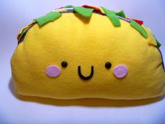 taco pillow | Taco Pillow by JustMadeCute on deviantART