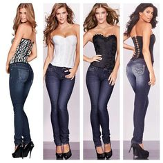I just love corsets and jeans