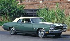 4. 1970 Chevelle 454 SS