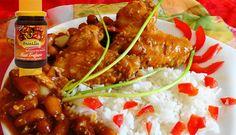Surinaams eten – B. B. R. Kip Kluifjes (bruine bonen met kipkluifjes)