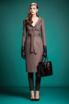 Gucci pre fall 2013 collection. Look 33. Lin Kjerulf.