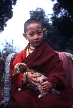 Shechen Rabjam Rinpoche. Darjeeling, India, 1975. photo by Matthieu Ricard