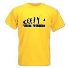 Bang Tidy Clothing Men's Fishing Evolution T Shirt Yellow S BANG TIDY CLOTHING http://www.amazon.co.uk/dp/B00TK9TWLA/ref=cm_sw_r_pi_dp_Z.povb055XRQ9