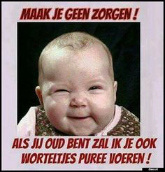 Grappig, als er correct geschreven was. Nu meer iets voor www. Birthday Jokes, Happy Birthday Funny, Funny Picture Quotes, Funny Quotes, Funny Pictures, Bad Humor, Baby Memes, Happy B Day, Funny Cards