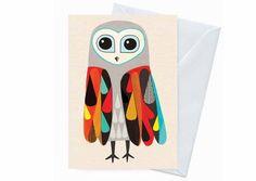 Inaluxe - Carte Hootenanny Owl
