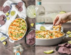 Celebrate Cinco de Mayo with HOT MEXICAN STREET CORN DIP! Everything you love about spicy Mexican Street Corn with a cheesy baked twist. BEST DIP EVER.