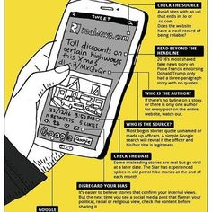 Good one! How to spot FAKE news ? Be smart and always check your source.  #infographic #mcmc #fakenews