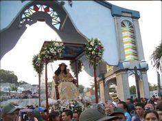 Procesion numero 160 de la virgen de La Divina Pastora en la ciudad de Barquisimeto en Venezuela 14 enero del 2016.