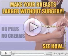 Do you want good shape breast size neturally??