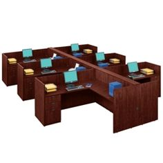 Six-Person Workstation Set, 13274