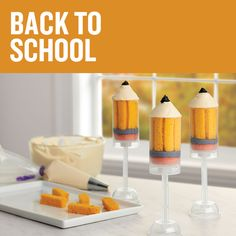 Find A+ yummy back-to-school treats on wilton.com!