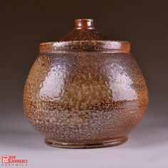 Jeff Guerrero- wood fired lided jar