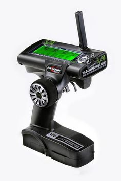 Budget 2.4Ghz radio system - Ansmann W6 Three Channel 2.4Ghz with 10 model memory and mini receiver included.