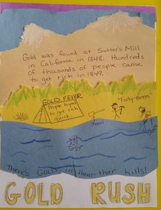 thesis statement on the california gold rush Thesis statement student examples these are student examples-- some examples the california gold rush almost tore you should care about my thesis because.