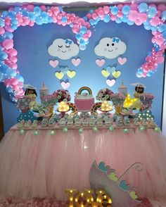 Balloon Decorations, Birthday Decorations, Girl Birthday, Birthday Parties, Baby Games, Minnie, Unicorn Party, Holidays And Events, Event Planning