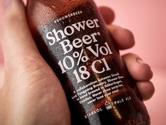 SHOWER BEER. Concept Beer packaging design for a 18 cl shower beer beauty. – Jens Nilsson