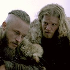"335 Likes, 1 Comments - Rosemary O'Malley (@rosemaryomalley) on Instagram: ""#lazyedit #ragnar #torstein #historyvikings"""