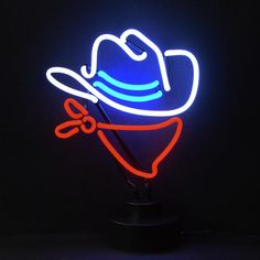 Shine brighter with our Cowboy Neon Sculpture! Each of our stand up Neon Lights will fill your home or business with a fun and stylish flare.