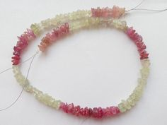 Natural Multi Sapphire Rough Chip Beads 13Strend by StarGemBeads