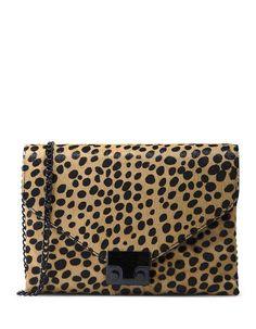 LOEFFLER RANDALL Small Leather Bag. #loefflerrandall #bags #shoulder bags #leather #metallic