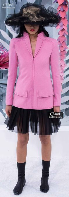 Love the Pink & Black #Chanel