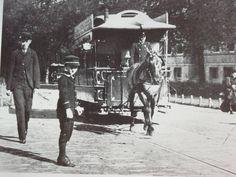Rotterdam - Paardentram op weg naar het Park, 1895.