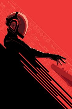 Daft Punk en vectores