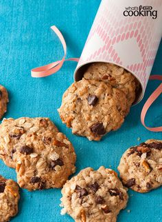 Chocolate Chunk-Everything Cookies #recipe