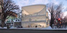 Musée National des Beaux Arts du Québec proposal by Allied Works Architecture (Canada)