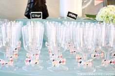 A Bow Tie Sip and See Party! These ideas would also work for a baby showe as well. Cute! via designdininganddiapers.com