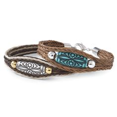 Someday I will have a braclet made with pagers hair.Dakota Horsehair Bracelet - Horse Themed Gifts, Clothing, Jewelry and Accessories all for Horse Lovers Horse Hair Bracelet, Horse Hair Jewelry, Punk Jewelry, Leather Jewelry, Fashion Jewelry, Jewlery, Westerns, Horse Braiding, Bracelet Turquoise