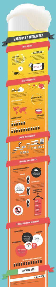 Hai passato più tempo a bere birra nei pub che sulla pista da corsa? Questa infografica fa al caso tuo!