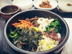 #KoreanFood #Bimbimbap