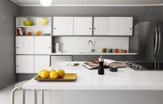 remodeled Eichler kitchen stays true to mid-century design
