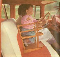 Les terrifiants sièges bébé du passé