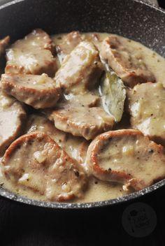 Kardamonowy: Polędwiczki wieprzowe w sosie chrzanowym Healthy Meals For Two, Good Healthy Recipes, Meat Recipes, Quick Recipes, Dinner Recipes, Cooking Classes For Kids, Cooking For Two, Cooking Ideas, Difficult Recipe