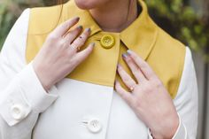Blogger Wish Wish Wish wears a Boden Lara Coat. February 2015.
