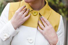 Blogger Wish Wish Wish wears a Boden Lara Coat. February 2015.