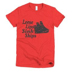 Women's Loose Lips T-shirt - Ludic Tees