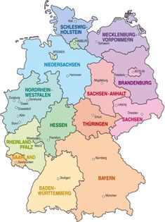 States of Germany  Fact Sheet: http://www.eupedia.com/germany/fact_sheet_germany.shtml#
