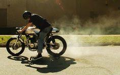 "Honda CB350 Cafe Racer ""Spitfire"""