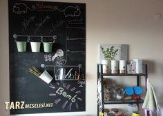 Ev dekorasyonuna hareket katmanızı sağlayacak nostaljik bir kara tahta yapmaya ne dersiniz? Biz yaptık, nasıl yapılacağını da adım adım anlattık.