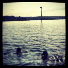 Swimming in Lapinniemi, Tampere, Finland. #tampereblog #tampereallbright