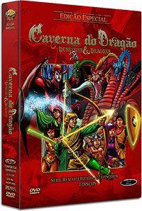 CAVERNA DO DRAGÃO (EDIÇÃO ESPECIAL COM 27 EPISÓDIOS) - (Digistack c/ 4 DVDs) | DVD WORLD