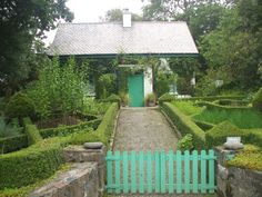 The gardeners cottage at Glenveagh Castle.